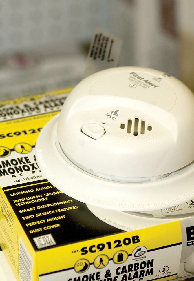 This First Alert carbon monoxide detector, available at ACE at the Curve, warns homeowners of CO gas leaks, which can be deadly. This particular detector also serves as a smoke alarm.