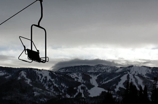 Threatening storm clouds rolled into Steamboat Springs this morning, promising skiers and local business owners another round of snow in the Yampa Valley.