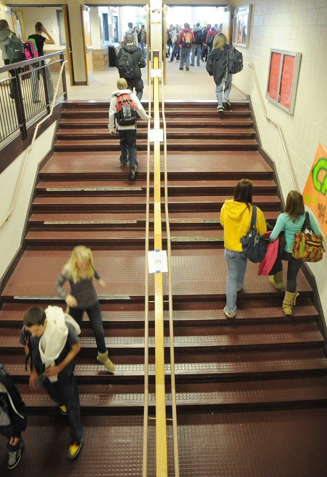 Students at Steamboat Springs High School estimate that 30 to 70 percent of their peers use drugs on a weekly basis. About half of the students at the high school have experimented with illegal drugs at some point, according to police.