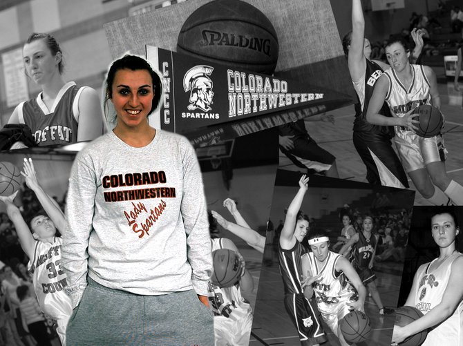 Markie Workman - the Moffat County High School girls basketball all-time leader in rebounds and second all-time leading scorer - has come home. Workman left Adams State College to become a force at Colorado Northwestern Community College.