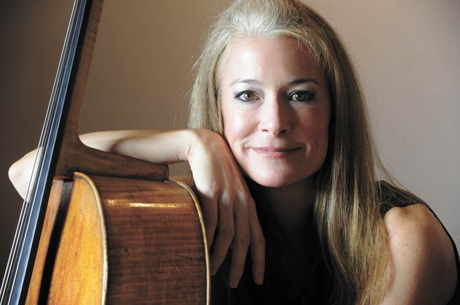 World-class cellist Sara Sant'Ambrogio, daughter of local Steamboat Springs cellist John Sant'Ambrogio, will perform with her father Feb. 14 and 15.