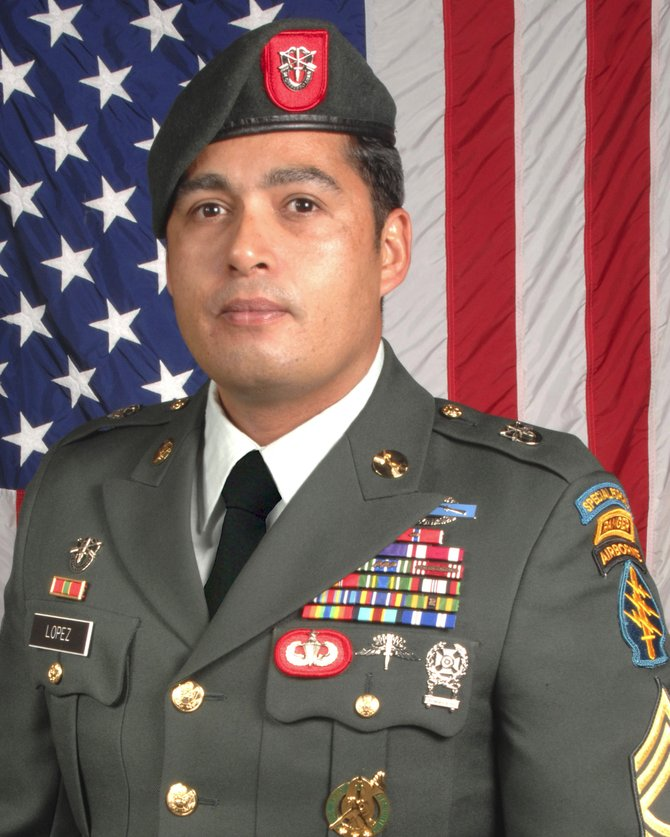 U.S. Army Sgt. 1st Class Richard Lopez.