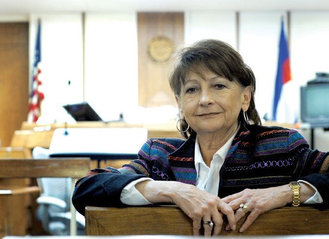 Bonnie Roesink, 14th Judicial District Attorney, is stepping down after 22 years of serving the tri-county judicial district. Roesink, who did not run for re-election, was appointed district attorney by Gov. Bill Owens in 2003 and re-elected in an unopposed bid a year later. Elizabeth Oldham, the 14th's assistant district attorney, will take charge Wednesday after she's sworn into office in Grand County.