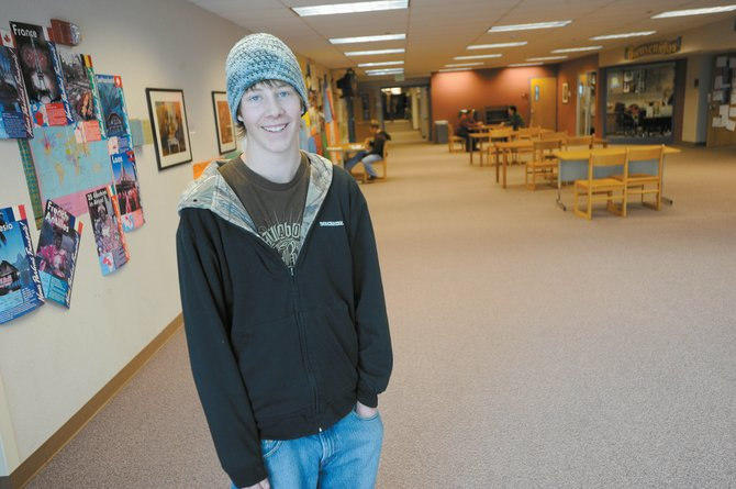 Steamboat Springs High School junior Ty Hvambsal will use data from a survey for his senior project to express that not all students use drugs and alcohol.