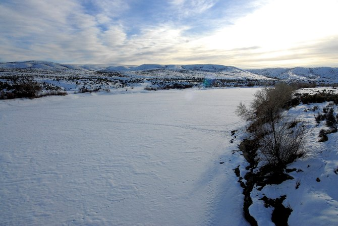 Shell Frontier Oil and Gas has filed in Steamboat Springs water court to skim 375 cubic feet per second from this section of the Yampa River, west of Maybell in Moffat County's Sunbeam area. Shell's filing could dramatically change the landscape of future water rights and use in Northwest Colorado.