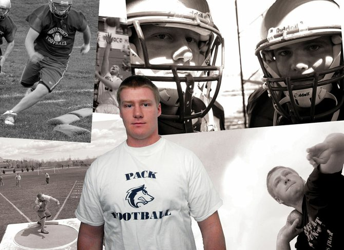 J.T. Haddan, a 2008 Moffat County High School graduate, refuses to be stopped. Despite two injuries to his right knee, Haddan earned a starting spot on the Thunderwolves football team at Colorado State University at Pueblo.