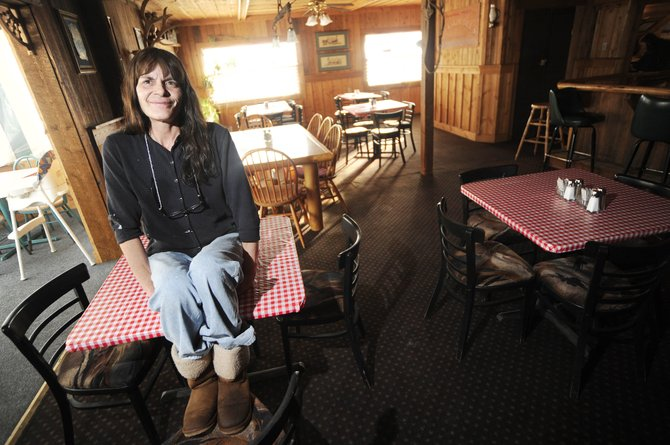 South Routt County resident Kathy Foos plans to have a grand opening for The Royal Cafe in Yampa, featuring a prime rib special Saturday.