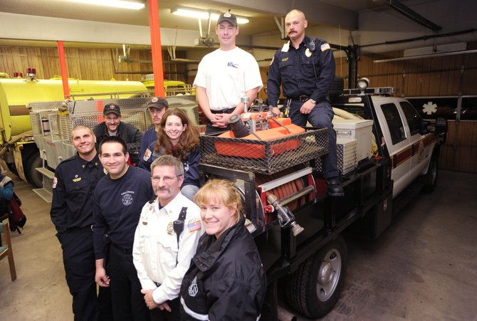 Oak Creek Fire Protection District firefighters, pictured Wednesday at the Oak Creek station, responded to 226 calls in 2008, which is 35 percent more than in 2007.