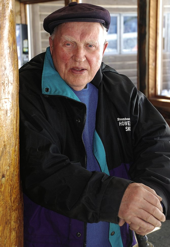 Leif Hovelsen is this year's grand marshal of the Winter Carnival.