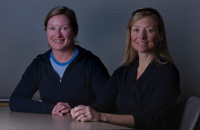 Lisa Barbour, left, and Cara Marrs are the new co-directors of the Steamboat Springs Running Series. Despite the first race being three months away, the two are looking for sponsors, race directors and volunteers. 