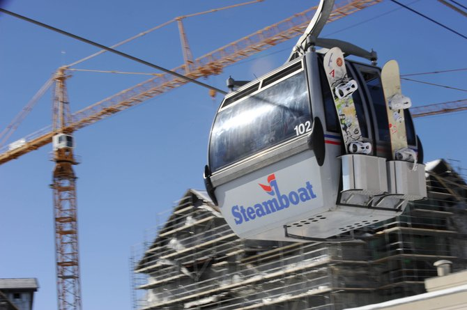 Base area developers said Wednesday that financial woes suffered by Fortress, which owns Steamboat Ski and Resort Corp. parent company Intrawest and is financing several base area projects, are not slowing planning for redevelopments including Ski Time Square and Thunderhead Lodge.