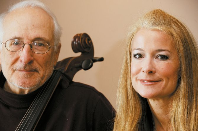 Father-and-daughter duo John and Sara Sant'Ambrogio will perform a Vivaldi double cello concerto as part of the Steamboat Springs Orchestra Valentine Soiree at 5 p.m. Saturday and Sunday. The concert includes heavy hors d'oeuvres and wine, and will be at the Steamboat Springs Community Center.