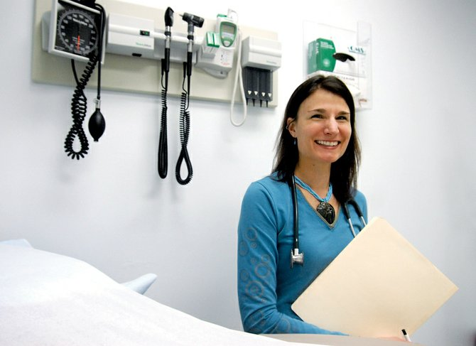 Dr. Diana Hornung was hired in October 2008 as a physician for the Northwest Colorado Community Health Center, an offering by the Northwest Colorado Visiting Nurse Association. The clinic, which treats all patients, is open Monday through Friday in the VNA's Craig office, 745 Russell St.