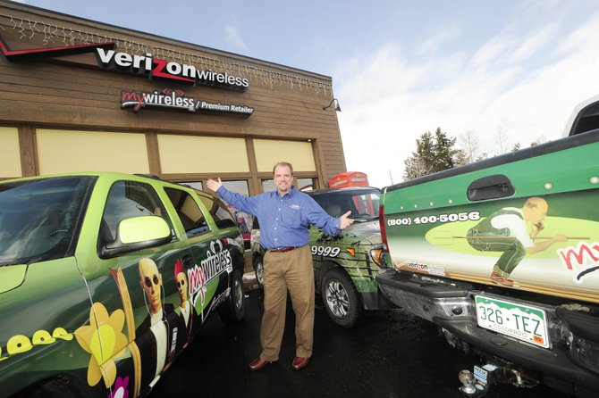 Steamboat Springs-based MyWireless is nearing the $20 million mark in revenue despite an economy that is challenging most businesses nationwide, says MyWireless Founder and Chief Executive Andy Brown. He says the industry is recession-proof.