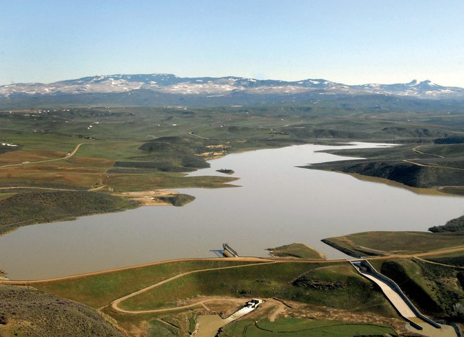 State officials are cautioning pregnant women and young children against eating bass caught in Elkhead Reservoir because of tissue samples that show elevated mercury levels in the fish.