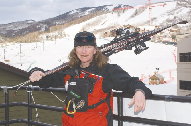 Steamboat Ski Area ski patroller Paula Lepporoli discovered a 40-year-old Denver man trapped in a tree well Saturday morning while skiing in the trees between the Cyclone and Tornado trails. Her actions helped free the man and most likely saved his life.
