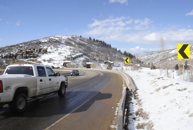 A semitrailer rolled near mile marker 141 on U.S. Highway 40 on Wednesday night after the driver failed check his brakes at the top of Rabbit Ears Pass.