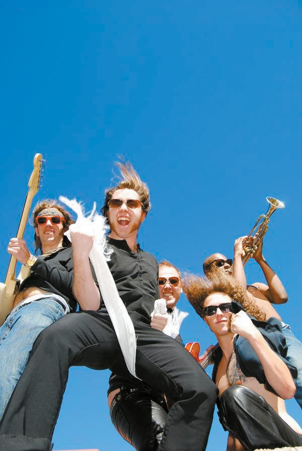 The Rowdy Shadehouse Funk Band plays today and Saturday at The Boathouse Pub.
