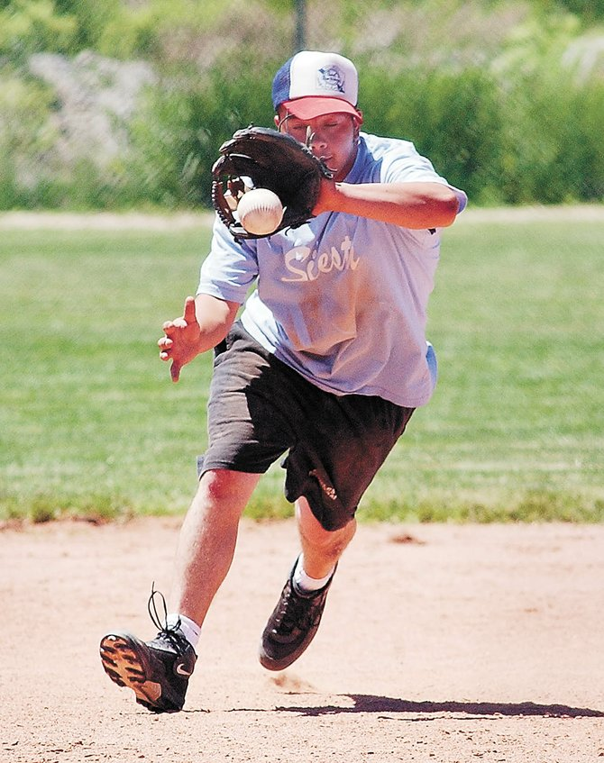 Triple Crown Sports President Dave King has proposed adding a men's adult softball tournament in August and hopes to prevent the city from contracting with a competing sports group.