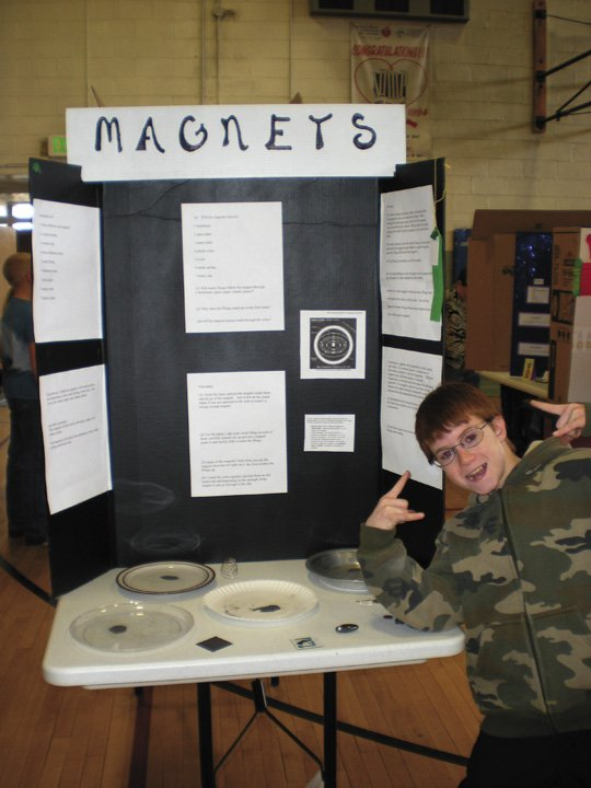 Magnet Science Fair Project: How to Measure the Strength of a Magnet
