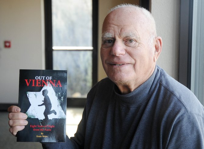 "Steamboat Springs resident Ernie Weiss will read passages from his book ""Out of Vienna: Eight Years of Flight from the Nazis"" at 6 p.m. Monday at Bud Werner Memorial Library."