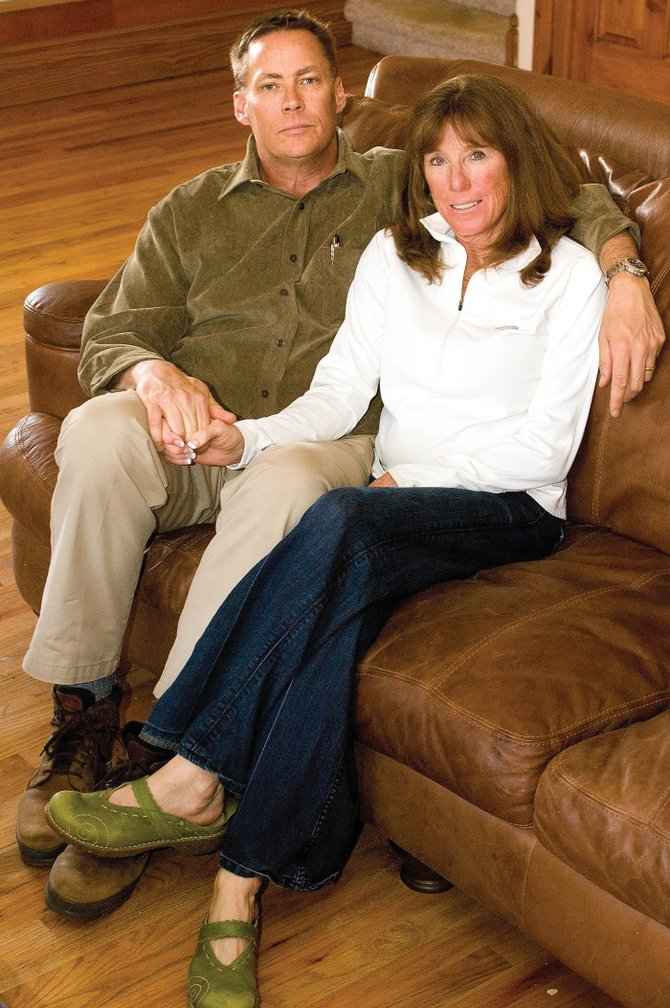 John and Julie Worden are trying to put things back together after their lives were turned upside down by Pamela Jean Williams and Terri Dawn Moody Fatka. Williams and Fatka pleaded guilty to embezzling about $1.3 million from the Steamboat Springs branch of Alpine Bank and its account holders.
