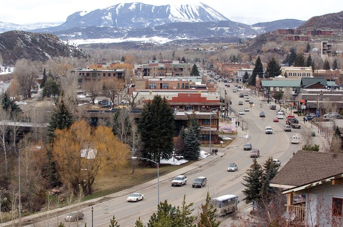 Traffic rolls through downtown Steamboat Springs on Monday afternoon. Numbers released by the U.S. Census Bureau show that Routt County's population has increased by 3 percent from 2007-08. In the latest count, 22,980 people live in the county.