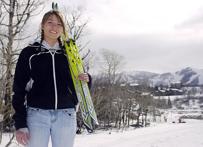 Steamboat Springs High School senior Katherine Ingalls placed 10th in the 5-kilometer skate-ski race at the Junior Nationals nearly 18 months after a bike accident left her with a broken leg and pelvis.