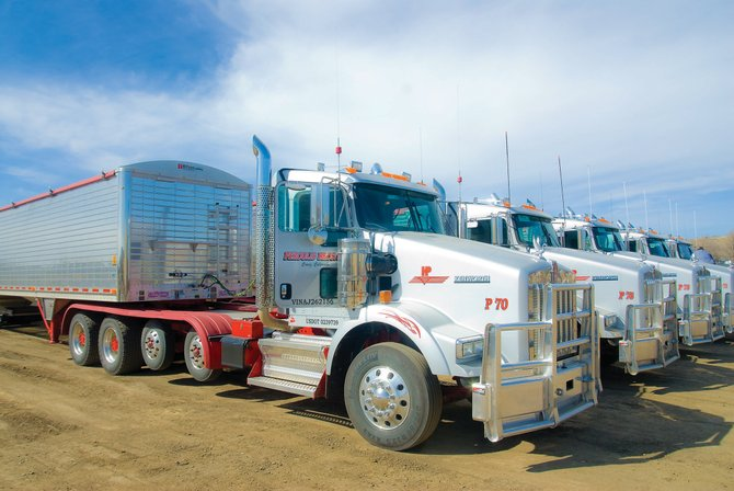 Peroulis Brothers, 1600 E. U.S. Highway 40, has added new trucks to its fleet. The new vehicles are similar to those pictured here.