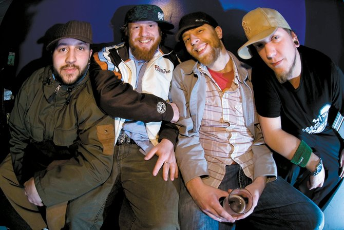 Reggae-jam band Roots of Creation plays Saturday at Mahogany Ridge Brewery Grill. Lead singer Brett Wilson said the band takes chances to jam out while it holds on to positive-vibe lyrics.