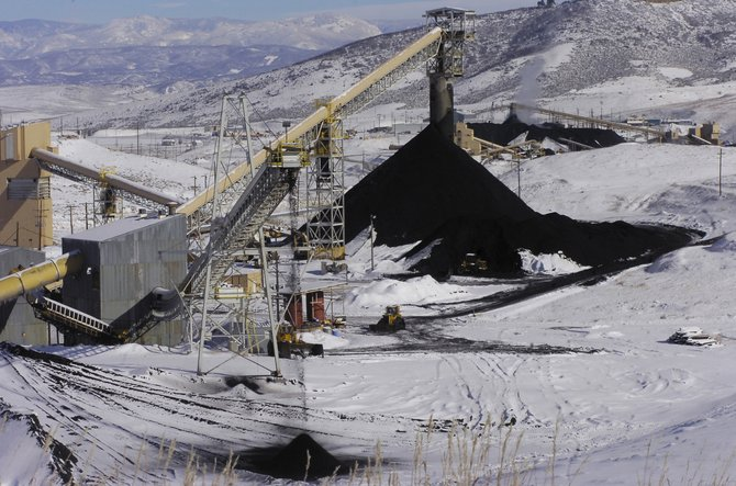 Twentymile Coal Co. shipped 8 million tons of coal in 2008, in an operation that could run dry by 2013. Peabody Energy is planning construction of a new mine.