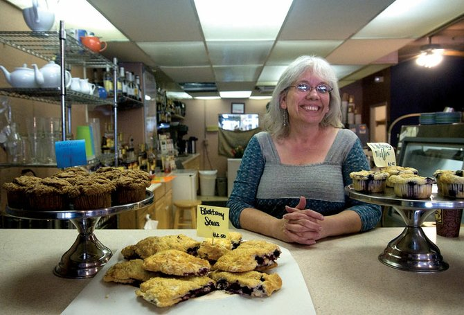 Diana Vesely reopened Serendipity Cafe & Coffee Shop on Wednesday under her ownership. Vesely said she intends to keep the coffee shop virtually unchanged, but she wants to grow the bakery portion of the business.