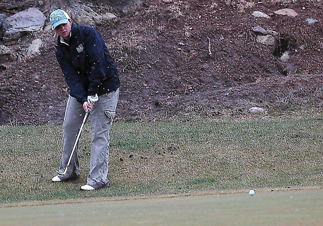 Heather Nicholson, a Moffat County High School sophomore, has earned top finishes at every tournament so far this year. Overall, the MCHS girls golf team has opened this season's play with two top 5 team finishes.