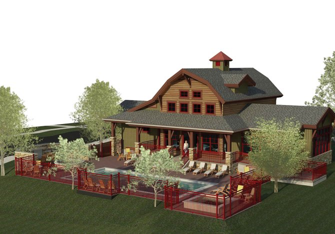 Jay Czarkowski, of Construction Design Group, is the general contractor on the amenity building at Barn Village at Steamboat. Czarkowski plans to simultaneously build a large duplex nearby. He is the developer of the duplex.