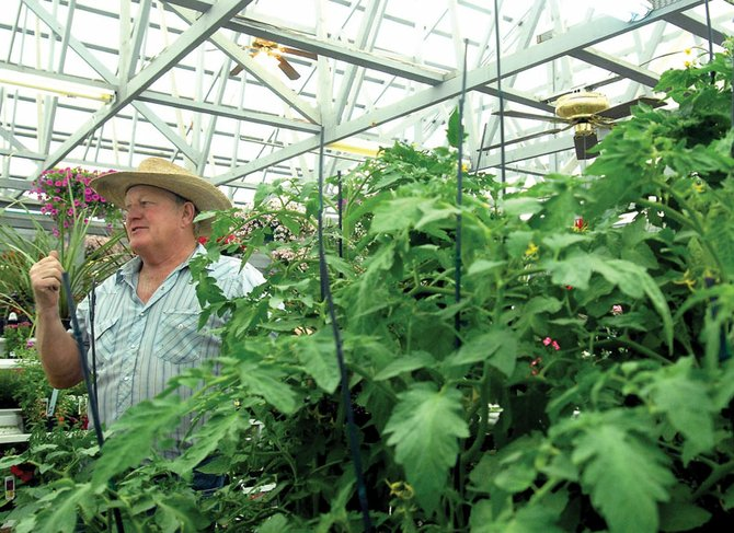 Bob Meckley, owner of Tunies & Such on Yampa Avenue, describes ways to prepare a garden for planting now, even though he suggests not putting plants in the ground until after Memorial Day.