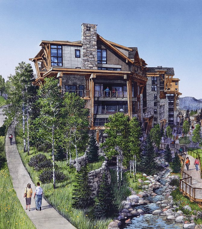 The proposed Steamboat Highlands development on Burgess Creek Road will be reviewed by the Steamboat Springs Planning Commission tonight.