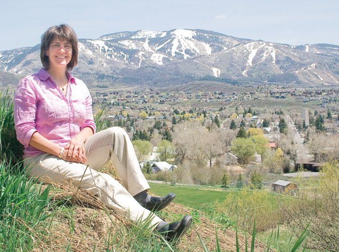 Gretchen Van De Carr, one of five Coloradans to receive the 2009 Livingston Fellowship from the Bonfils-Stanton Foundation, hopes to transform her dream of a youth development and environmental center into reality.