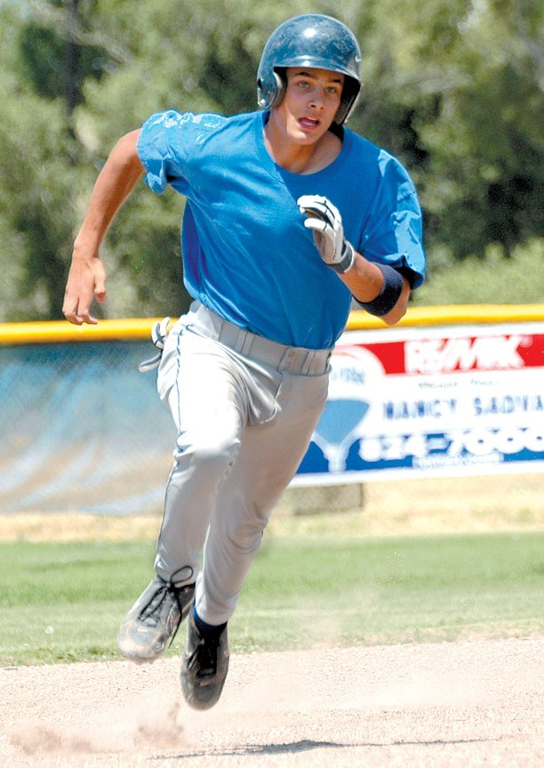 Chris Winder, shown in 2007 while playing for the American Legion, had a successful freshman year at Odessa College, in Texas, netting 71 hits and 31 stolen bases. Winder, who graduated in 2008 from Moffat County High School, will be playing summer ball for the Dodge City Athletics, in Dodge City, Kan.