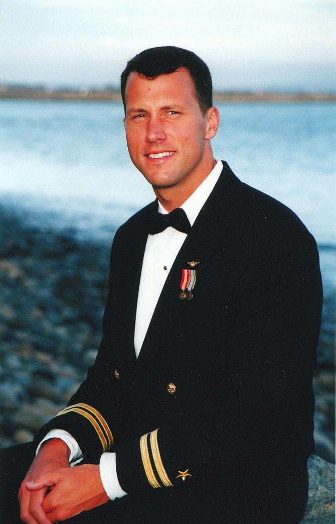 Navy Lt. Cmdr. Eric Purvis