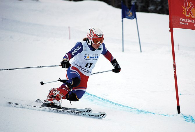 Lorin Paley skis last month in a Telemark skiing World Cup event in Europe. The Steamboat Springs High School student is a member of the U.S. Telemark skiing team.