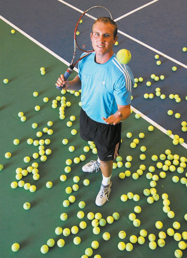 Steamboat Springs tennis pro Andy Caress, 23, was diagnosed with skin cancer in November 2008. He hopes his ordeal will help convince others about the dangers of the sun, even for young children and teens.