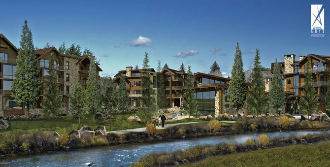 Rollingstone Village, off Pine Grove Road, is approved for 61 residential condominiums and seven commercial spaces. The owners are seeking a buyer with the financial patience to wait out the real estate slump.