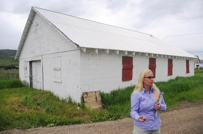 Yampatike Executive Director Sonja Macys talks about the nonprofit's move to the Legacy Ranch near U.S. Highway 40 and Colorado Highway 131.