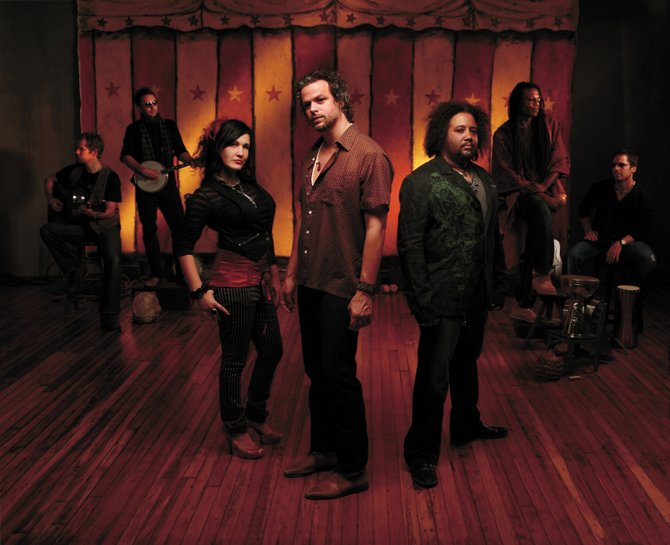 Rusted Root opens the 2009 Steamboat Springs Free Summer Concert Series at 5:30 p.m. Saturday. Read an interview with Michael Glabicki, center, in this week's Explore Steamboat.