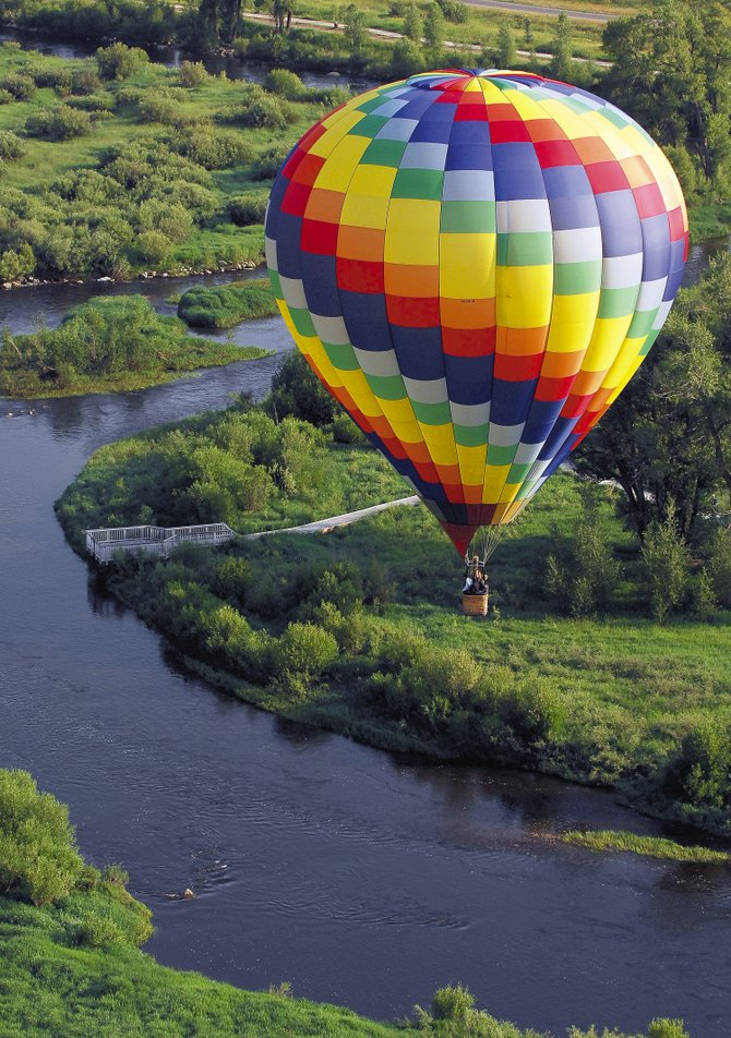 The 29th annual Hot Air Balloon Rodeo is Saturday and Sunday at Bald Eagle Lake. The launch field opens at 6 a.m. each day, with balloons inflating at 6:30 a.m. and taking off at about 7 a.m.