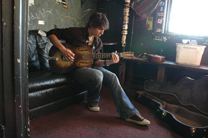 Davy Knowles and Back Door Slam play Old Town Pub at 10 p.m. today.