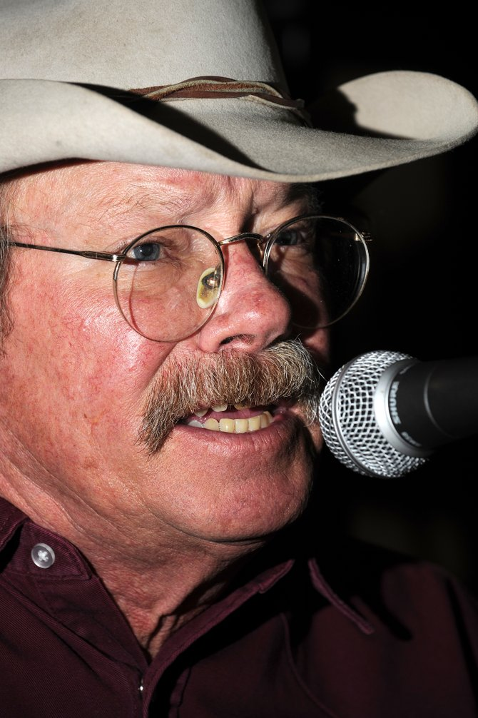 Longtime Steamboat Springs country-western musician Greg Scott performs in January at Steamboat Smokehouse. Scott died Monday night in a cabin in northern Routt County.