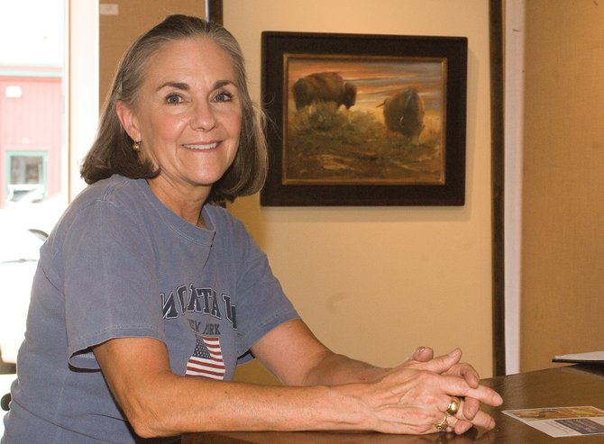 "Art dealer and gallery owner Mary Williams is bringing the 11th annual ""Spirit of the American West"" traveling art show to the Center for Visual Arts. The show, which features a number of prominent artists, runs from Thursday to Sunday."