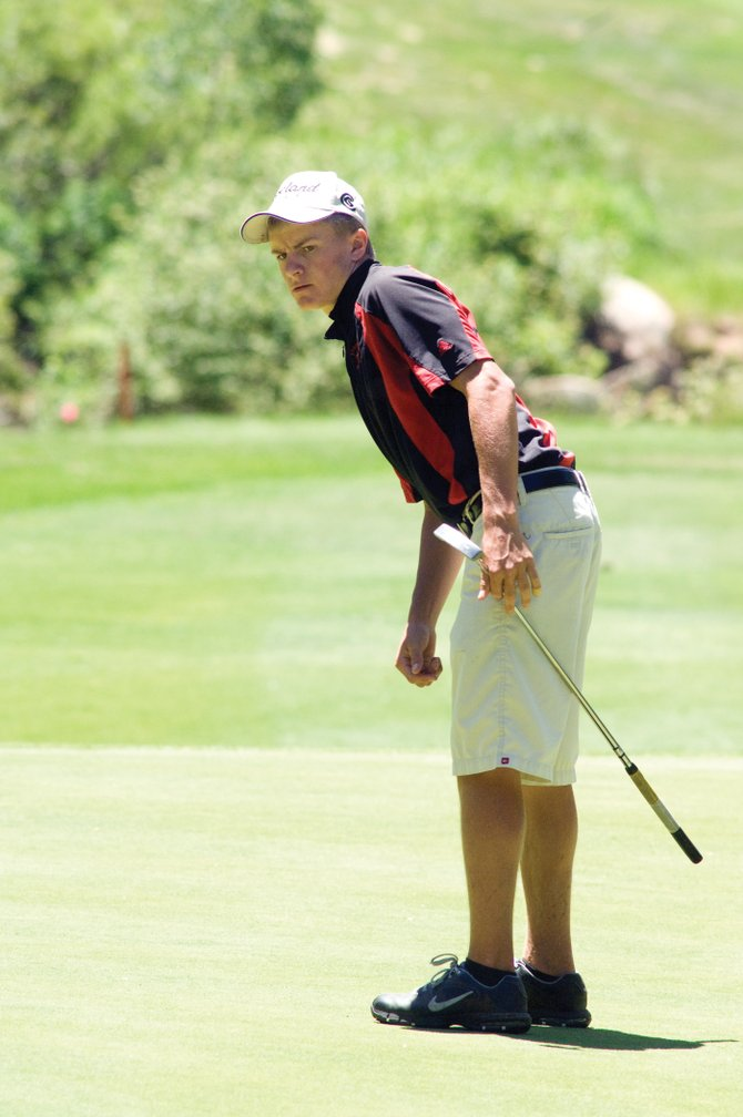 Scott Ptach will be one of three varsity players expected to return to the team when the Steamboat Springs High School golf team starts practice at 9 a.m. Monday at Haymaker Golf Course.
