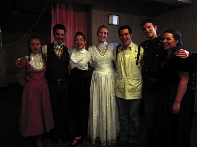 "Emerging opera performers were handpicked from a nationwide audition to study with the Emerald City Opera in Steamboat Springs. The young singers will perform a smaller-scale version of ""Elixir of Love,"" an Italian opera, at 7 p.m. today at The Church of Jesus Christ of Latter-day Saints in Craig."